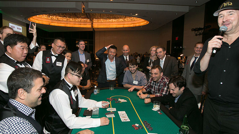All-In For Kids Poker Tournament Attendees