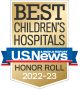 Best Children's Hospitals – U.S. News and World Report – Honor Roll 2017-18